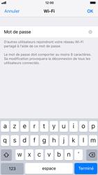Apple iPhone 6s - iOS 11 - Internet et connexion - Partager votre connexion en Wi-Fi - Étape 6