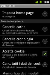 Alcatel OT-983 - Internet e roaming dati - configurazione manuale - Fase 20