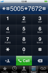 Apple iPhone 4 - SMS - Manual configuration - Step 4