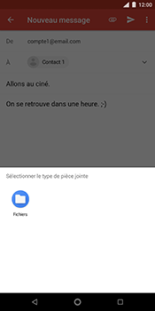 Nokia 7 Plus - E-mails - Envoyer un e-mail - Étape 11