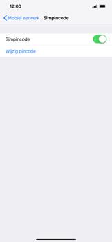 Apple iPhone XR - Beveiliging - Stel de pincode voor je simkaart in - Stap 5