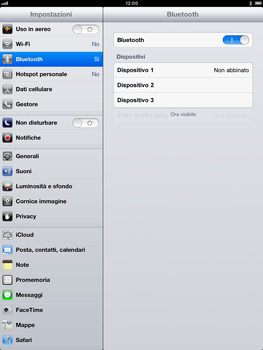 Apple iPad Retina - Bluetooth - Collegamento dei dispositivi - Fase 7