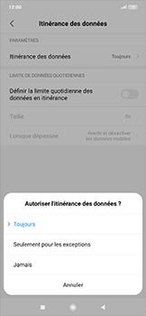 Xiaomi RedMi Note 7 - Internet et roaming de données - Désactivation du roaming de données - Étape 6