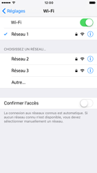 Apple iPhone 6 iOS 10 - WiFi - Configuration du WiFi - Étape 7
