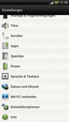 HTC One S - Software - Installieren von Software-Updates - Schritt 5