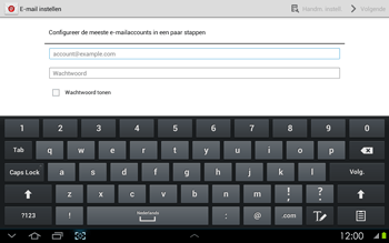 Samsung P5100 Galaxy Tab 2 10-1 - E-mail - Handmatig instellen - Stap 5