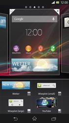 Sony Xperia Z - Startanleitung - Installieren von Widgets und Apps auf der Startseite - Schritt 6