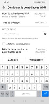 Huawei Y5 (2019) - Internet - comment configurer un point d'accès mobile - Étape 11