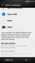 HTC Desire 601 - Fehlerbehebung - Handy zurücksetzen - 8 / 11
