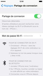 Apple iPhone 5 (iOS 8) - Internet et connexion - Partager votre connexion en Wi-Fi - Étape 9