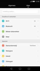 Huawei P8 - WiFi - Handmatig instellen - Stap 4