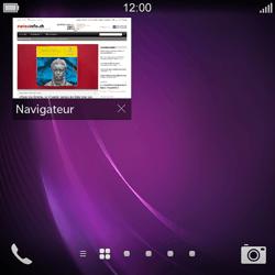 BlackBerry Q10 - Internet et roaming de données - Navigation sur Internet - Étape 15