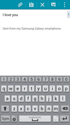 Samsung G800F Galaxy S5 Mini - E-mail - Sending emails - Step 10