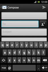 Sony C1505 Xperia E - E-mail - Sending emails - Step 5