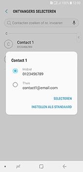 Samsung Galaxy A6 - MMS - hoe te versturen - Stap 5