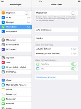 Apple iPad mini iOS 7 - Netzwerk - Netzwerkeinstellungen ändern - Schritt 4