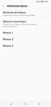 Samsung Galaxy S8 Plus - Réseau - Sélection manuelle du réseau - Étape 9