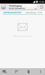 Huawei Ascend Y330 - E-Mail - Konto einrichten - Schritt 4
