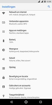 Nokia 5.1 - Internet - handmatig instellen - Stap 5