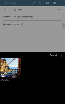 Samsung T335 Galaxy Tab 4 8-0 - E-mail - Sending emails - Step 14