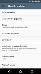 Sony Xperia X Compact (F5321) - Software updaten - Update installeren - Stap 5