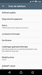 Sony F5321 Xperia X Compact - Software update - update installeren zonder PC - Stap 5