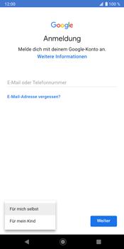 Sony Xperia XZ3 - Apps - Konto anlegen und einrichten - Schritt 6
