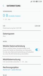 Samsung Galaxy S7 - Android N - Internet und Datenroaming - Prüfen, ob Datenkonnektivität aktiviert ist - Schritt 7