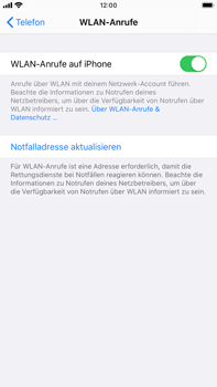Apple iPhone 7 Plus - iOS 13 - WiFi - WiFi Calling aktivieren - Schritt 8
