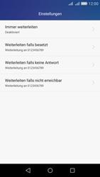 Huawei Y6 - Anrufe - Rufumleitungen setzen und löschen - Schritt 6