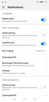 Huawei P20 - Android Pie - Netzwerk - Netzwerkeinstellungen ändern - Schritt 5
