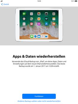 Apple iPad Pro 9.7 inch - iOS 11 - Persönliche Einstellungen von einem alten iPhone übertragen - 17 / 30