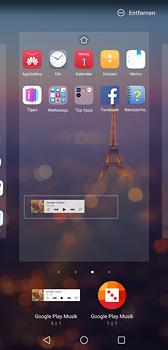 Huawei P20 - Startanleitung - Installieren von Widgets und Apps auf der Startseite - Schritt 9