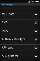 Sony ST27i Xperia Go - Internet - Manual configuration - Step 13