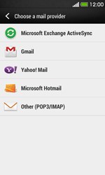 HTC Desire 500 - Email - Manual configuration POP3 with SMTP verification - Step 5