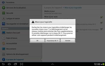 Samsung Galaxy Tab 2 10.1 - Logiciels - Installation de mises à jour - Étape 8