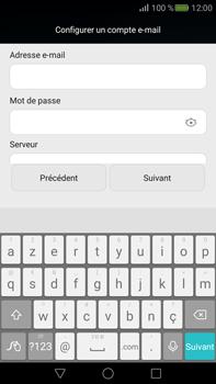 Huawei Mate S - E-mail - Configuration manuelle - Étape 10