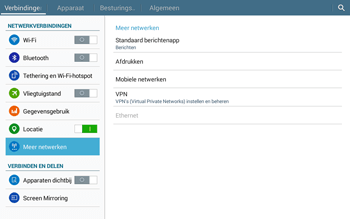 Samsung Galaxy Tab4 10.1 4G (SM-T535) - Buitenland - Bellen, sms en internet - Stap 6