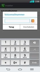 LG G2 - Voicemail - Handmatig instellen - Stap 8