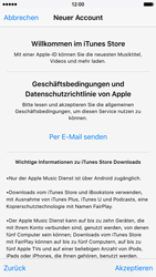 Apple iPhone 6 - Apps - Konto anlegen und einrichten - 2 / 2