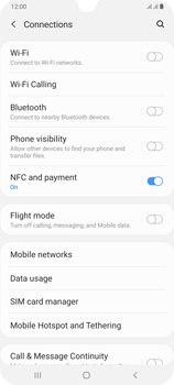 Samsung Galaxy A70 - Network - How to enable 4G network connection - Step 5