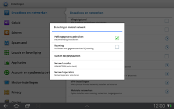 Samsung P7500 Galaxy Tab 10-1 - Buitenland - Bellen, sms en internet - Stap 9