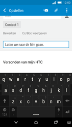 HTC One M8s - E-mail - hoe te versturen - Stap 9