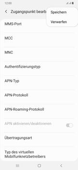 Samsung Galaxy A50 - Internet und Datenroaming - Manuelle Konfiguration - Schritt 18