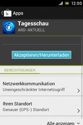 Sony Xperia Miro - Apps - Herunterladen - Schritt 8