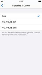 Apple iPhone SE - iOS 13 - Netzwerk - So aktivieren Sie eine 4G-Verbindung - Schritt 6