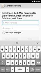 Huawei Ascend G6 - E-Mail - Konto einrichten - 2 / 2