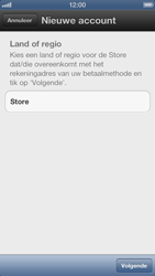 Apple iPhone 5 - Applicaties - Account instellen - Stap 5