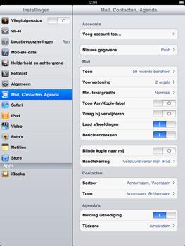 Apple iPad 2 - E-mail - e-mail instellen: IMAP (aanbevolen) - Stap 3