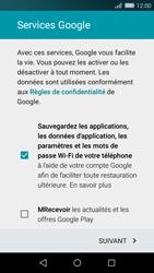 Huawei P8 Lite - Applications - Créer un compte - Étape 11